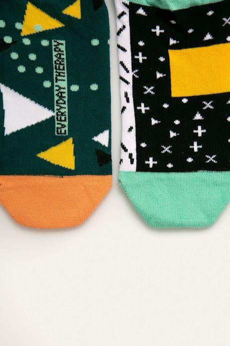 Skarpetki damskie we wzory geometryczne (2-pack)