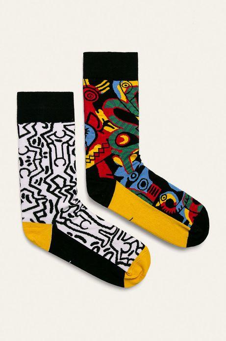 Skarpetki męskie by Keith Haring (2-pack)