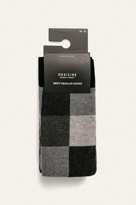 Skarpetki męskie we wzory (2-pack)