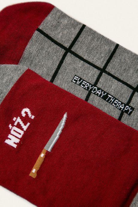 Stopki męskie nóż i widelec (2-pack)