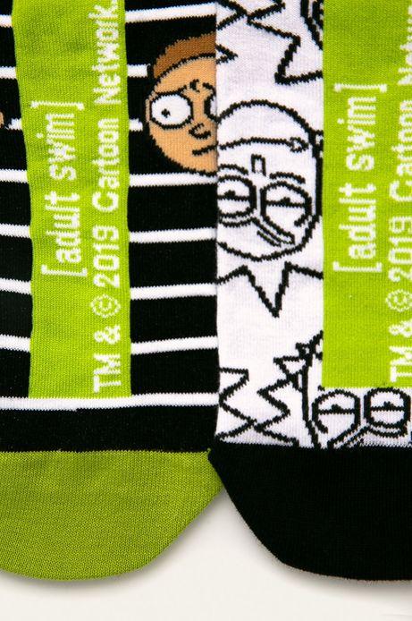 Skarpetki męskie wzorzyste Rick and Morty (2-pack)