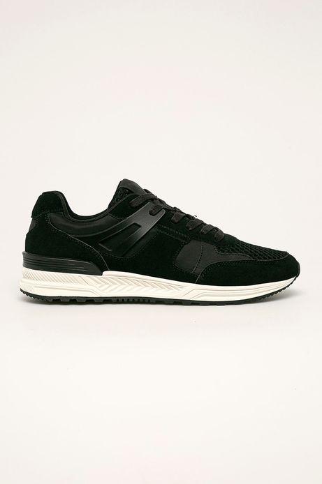 Skórzane buty męskie czarne