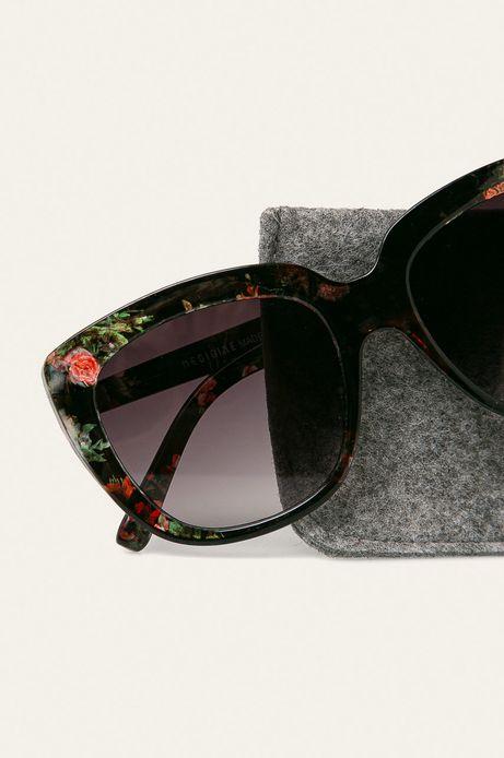 Okulary przeciwsłoneczne damskie w prostokątnej oprawie
