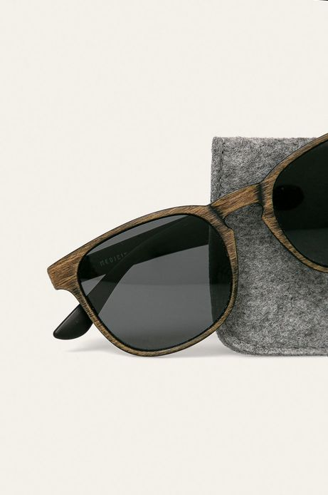 Okulary przeciwsłoneczne męskie z polaryzacją brązowe