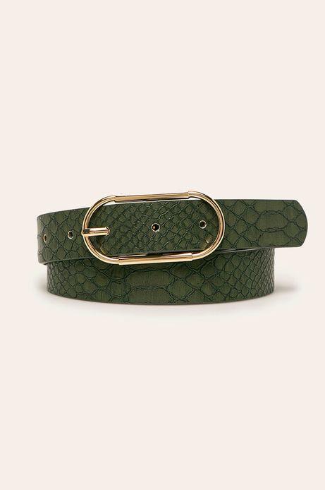 Pasek damski zielony