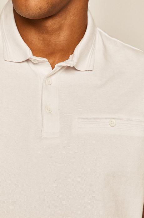 Polo męskie białe