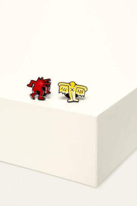 Przypinki by Keith Haring