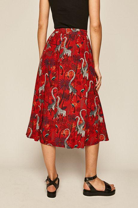 Spódnica Basic czerwona