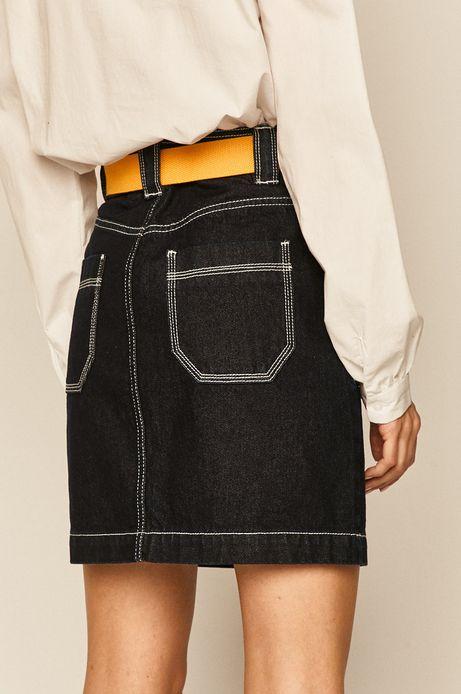 Spódnica damska jeansowa granatowa