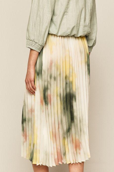 Spódnica damska plisowana wzorzysta