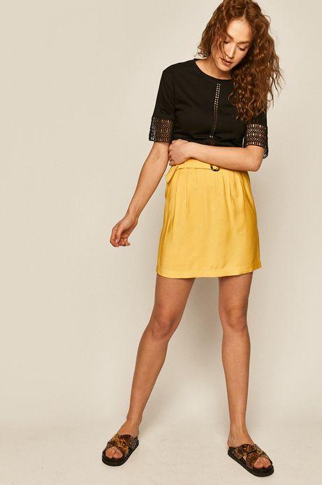 Spódnica damska żółta