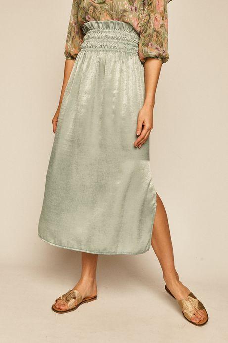 Spódnica damska Soft Grass zielona