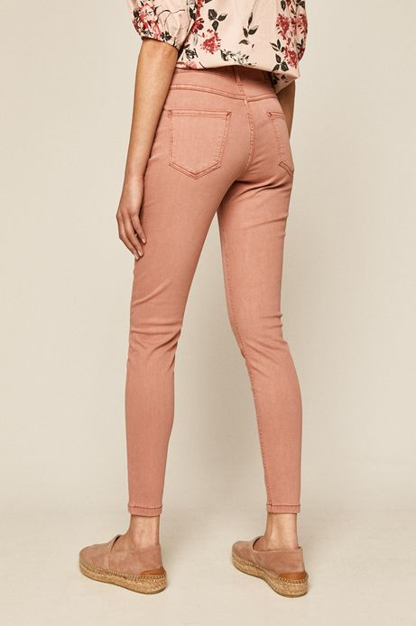 Spodnie damskie różowe