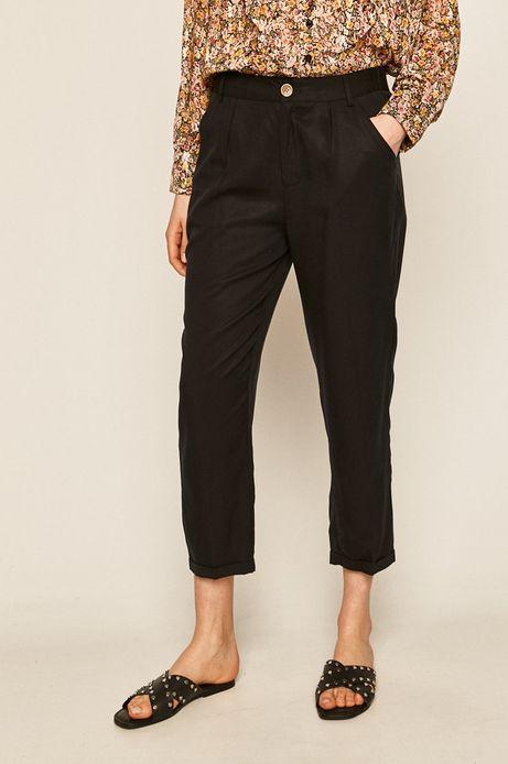 Spodnie damskie granatowe