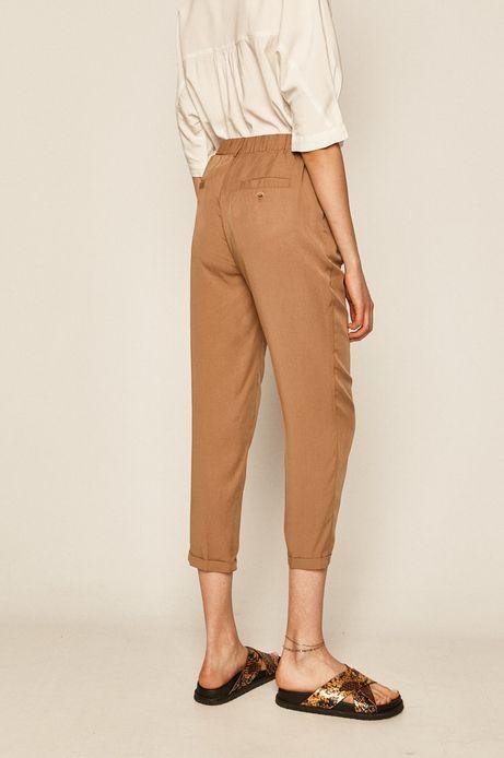 Spodnie damskie beżowe