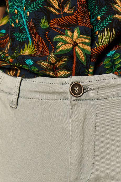 Spodnie damskie chino niebieskie