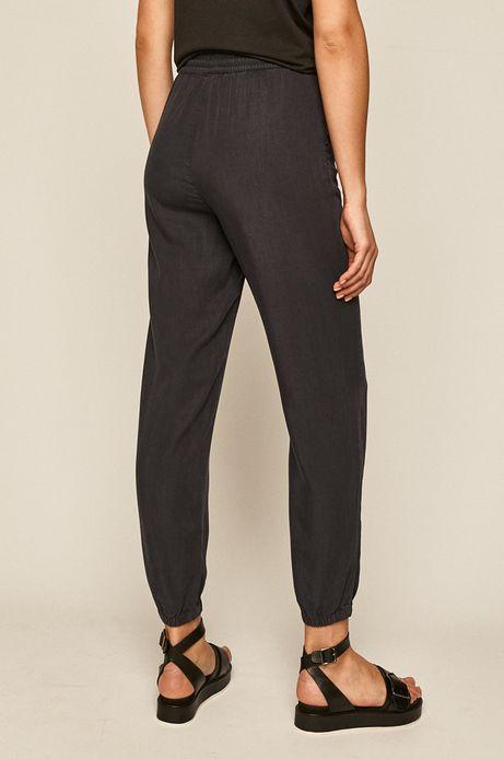 Spodnie damskie joggery granatowe