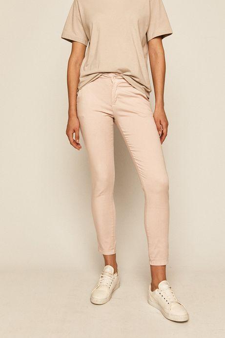 Spodnie damskie chinosy różowe