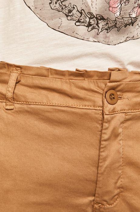Spodnie damskie chinosy beżowe