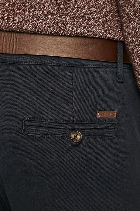 Spodnie męskie slim fit granatowe