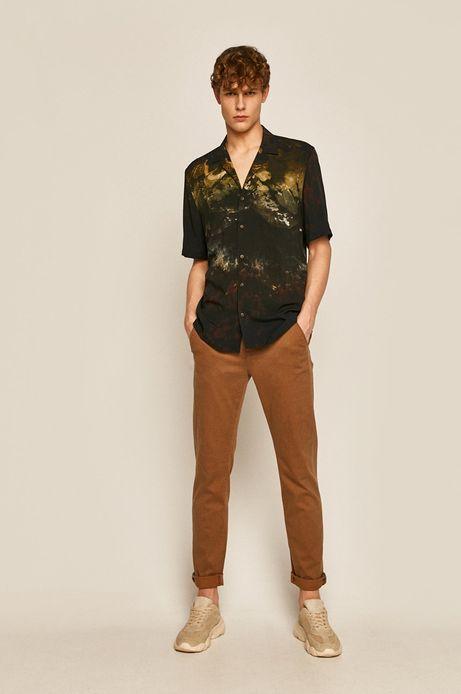 Spodnie męskie brązowe