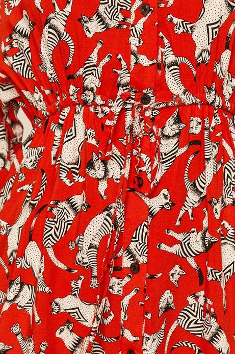 Sukienka damska czerwona