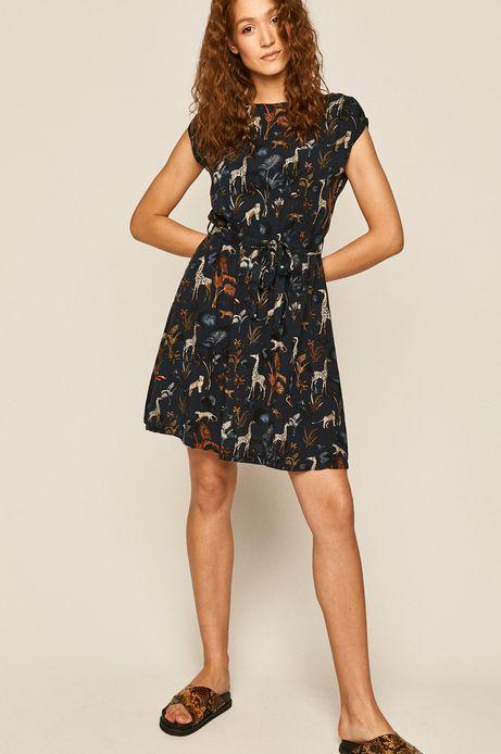 Sukienka damska granatowa