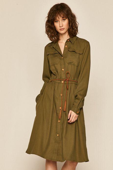 Sukienka damska zielona