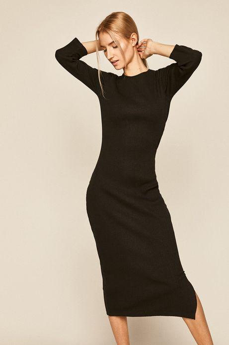 Sukienka damska Valentine's czarna