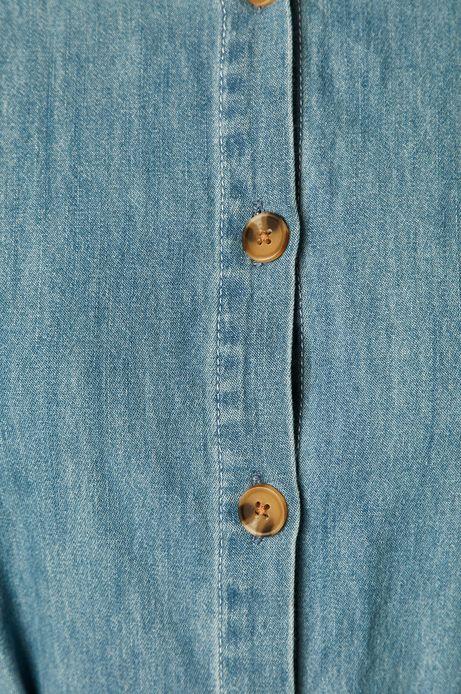 Sukienka damska denimowa niebieska