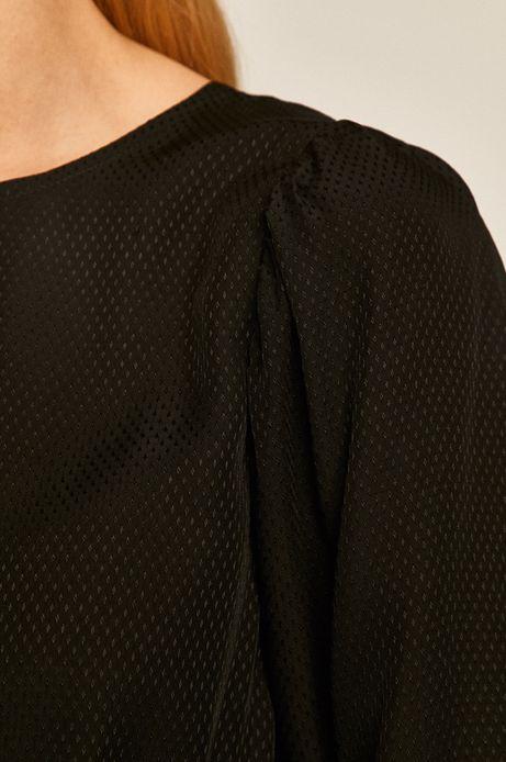 Sukienka damska rozkloszowana czarna