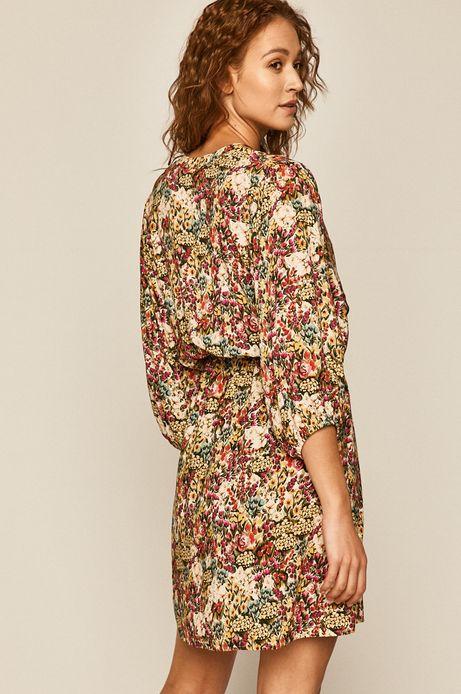 Sukienka damska w drobne kwiatki