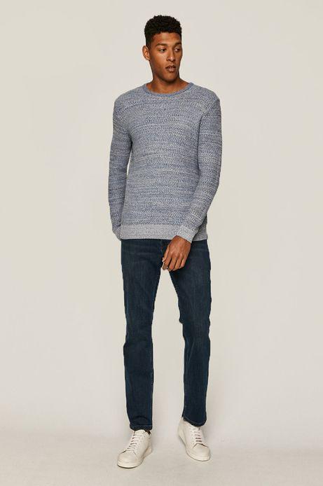 Sweter męski niebieski