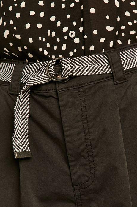 Szorty damskie czarne