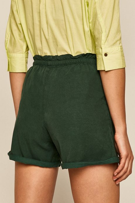 Szorty damski zielone