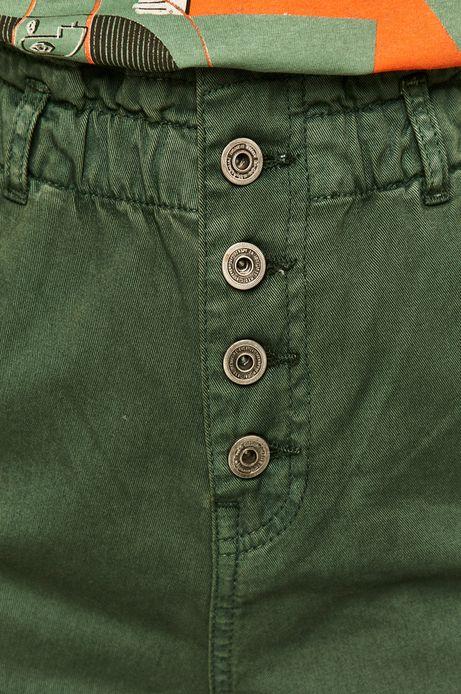Szorty damskie zielone