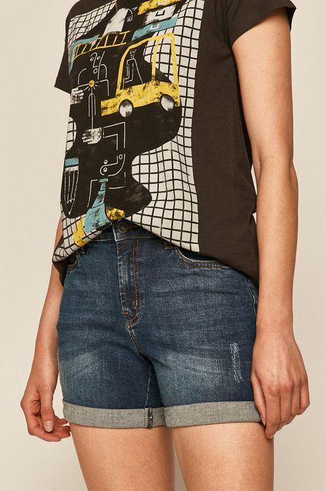 Szorty damskie jeansowe granatowe