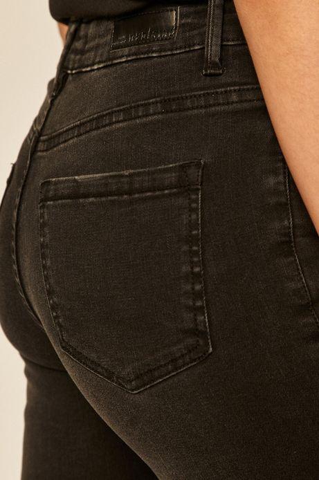 Szorty damskie jeansowe czarne