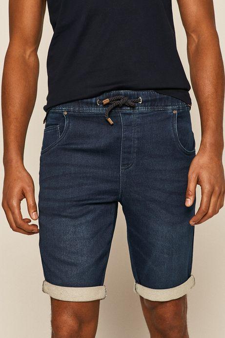 Szorty męskie jeansowe granatowe