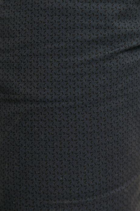 Szorty męskie w drobny deseń granatowe