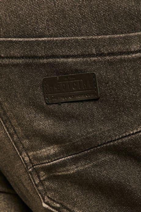 Szorty męskie jeansowe czarne