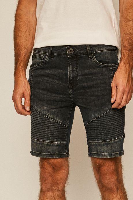 Szorty jeansowe męskie granatowe