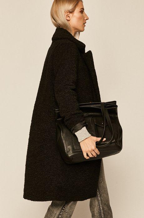 Torebka damska z kieszonkami czarna