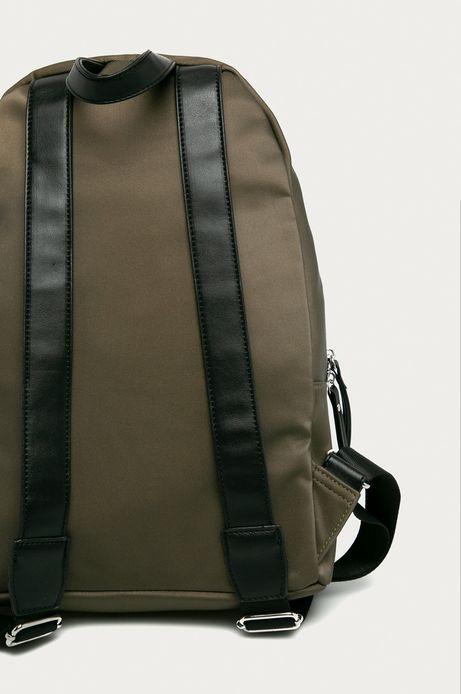 Plecak damski z łańcuszkiem zielony