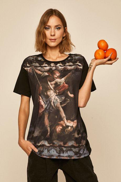 T-shirt damski Eviva L'arte czarny