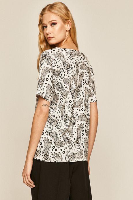 T-shirt damski by Karolina Cecot, Tattoo Konwent biały