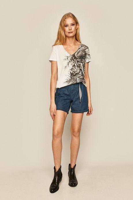 T-shirt damski by Daniel Bacz, Tattoo Konwent biały