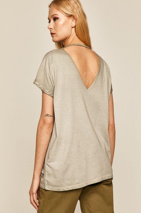 T-shirt damski by Karolina Wilczewska, Tattoo Konwent szary