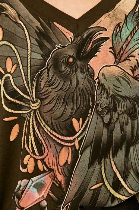 T-shirt damski by Karolina Wilczewska, Tattoo Konwent zielony