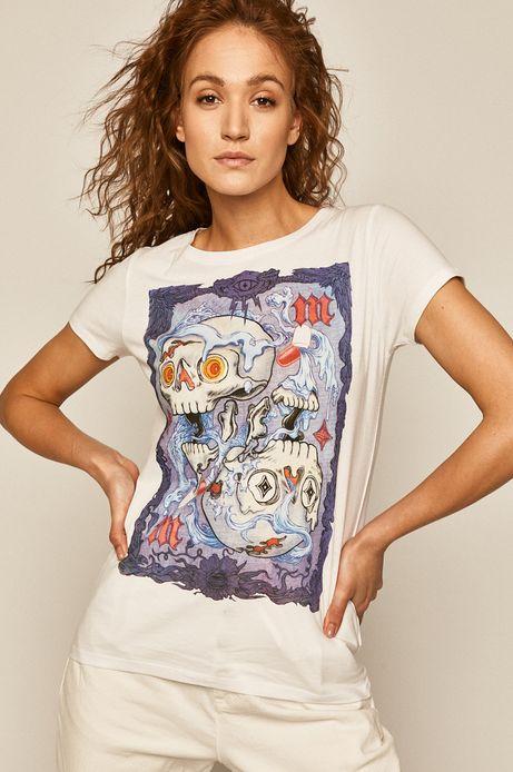 T-shirt damski by Damian Dideńko biały